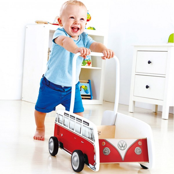 Classical Bus T1 Walker (Red)