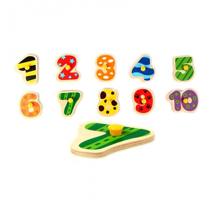 NUMBERS MATCHING PUZZLE