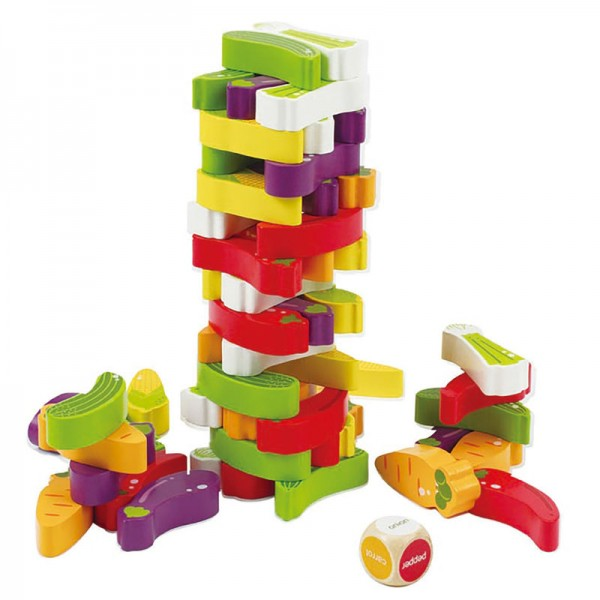 STACKING VEGGIE GAME