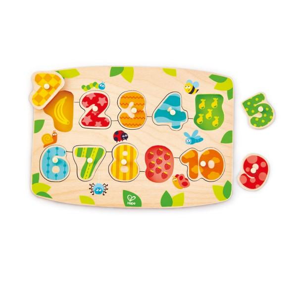 Number Peg Puzzle
