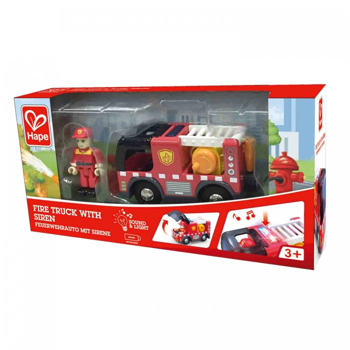 Fire Truck with Siren