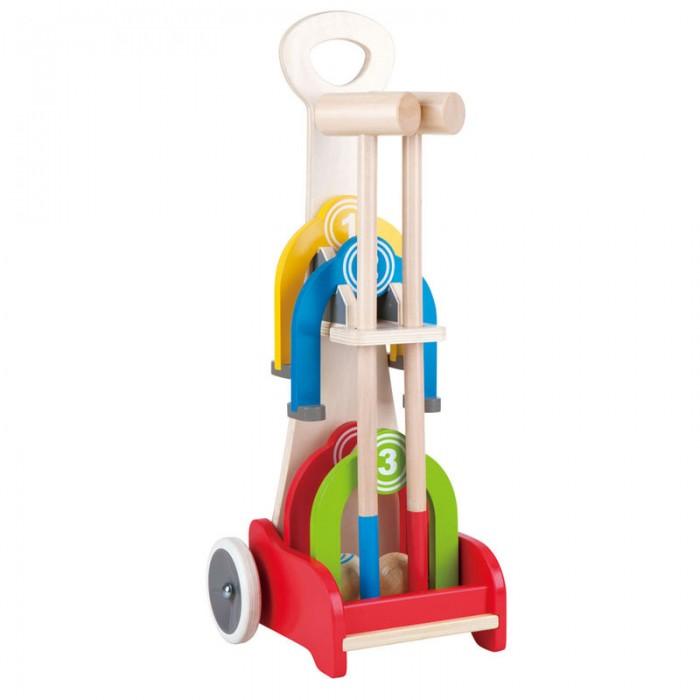 Rainbow Croquet Caddy