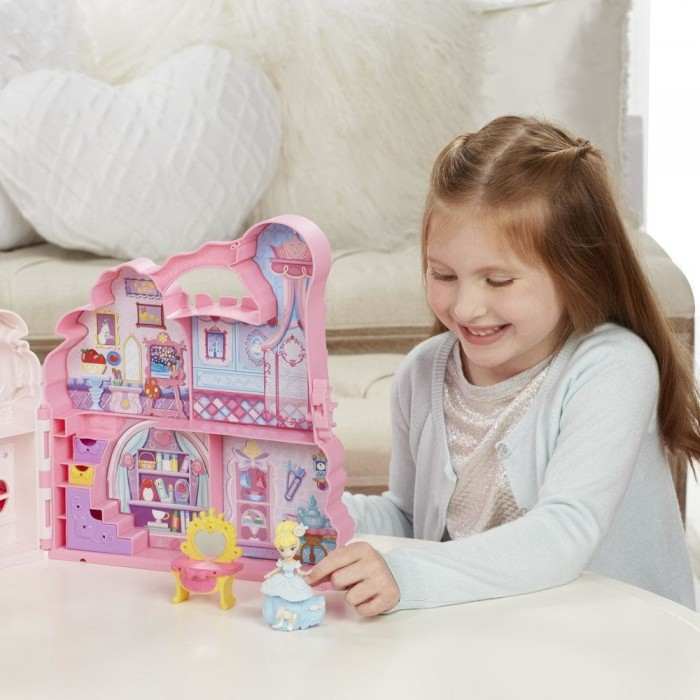 Disney Princess Little Kingdom Play 'n Carry Castle