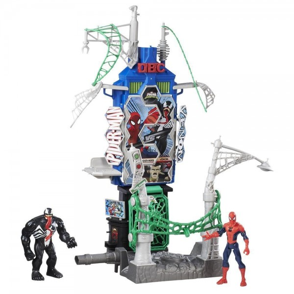 Marvel Spider-Man Web City Showdown Play Set