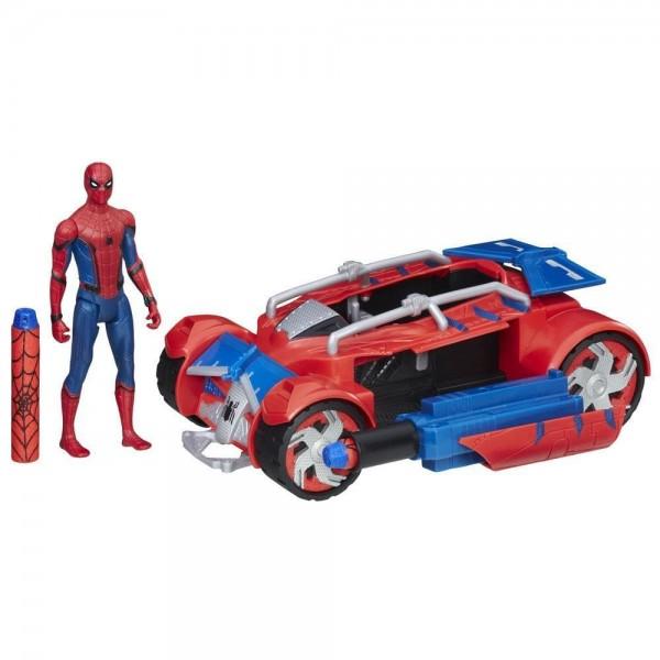 Spider-Man With Spider Racer