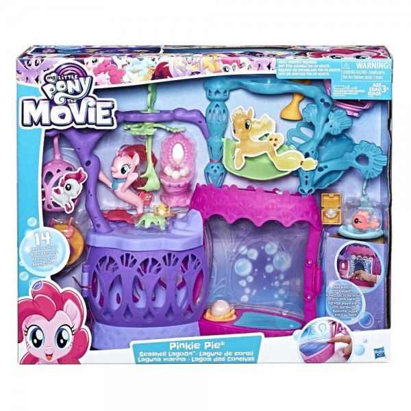 MLP THE MOVIE SEASHELL LAGOON PLAYSET