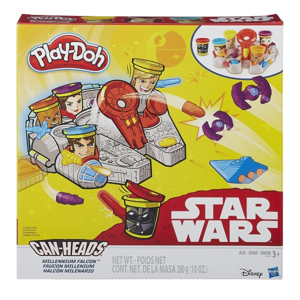 Play-Doh Star Wars Millennium Falcon Featuring Can-Heads