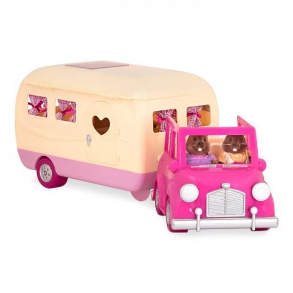 Li'l Woodzeez Happy Camper Pink