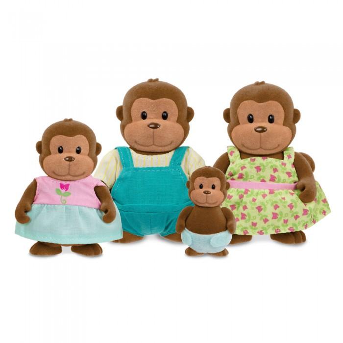 Li'l Woodzeez Monkey Family