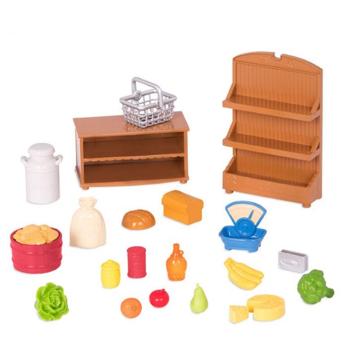 Li'l Woodzeez Grocery Store Accessory Set