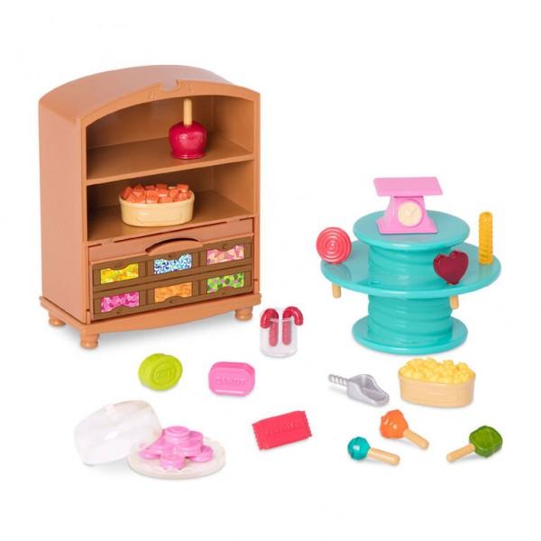 Li'l Woodzeez, Candy Shop, Store Accessory Set