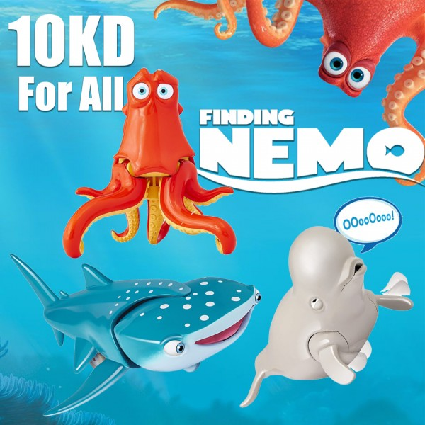 Finding Dory 3 Figures 7 inch