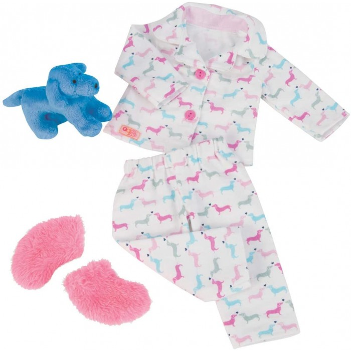 Our Generation Teckel Dog and Pyjama Outfit