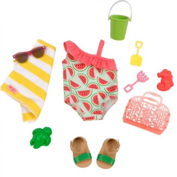 Our Generation Watermelon Print Swimsuit