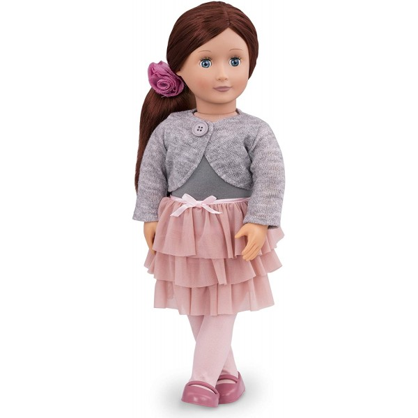 Our Generation Doll with Frilly Skirt Ayla