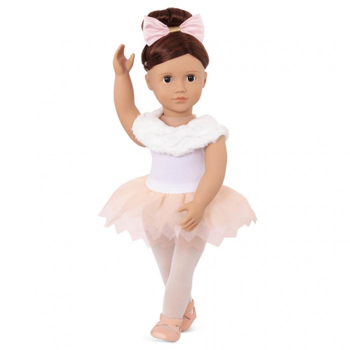 Our Generation Doll with Feathery Ballet Skirt Valencia