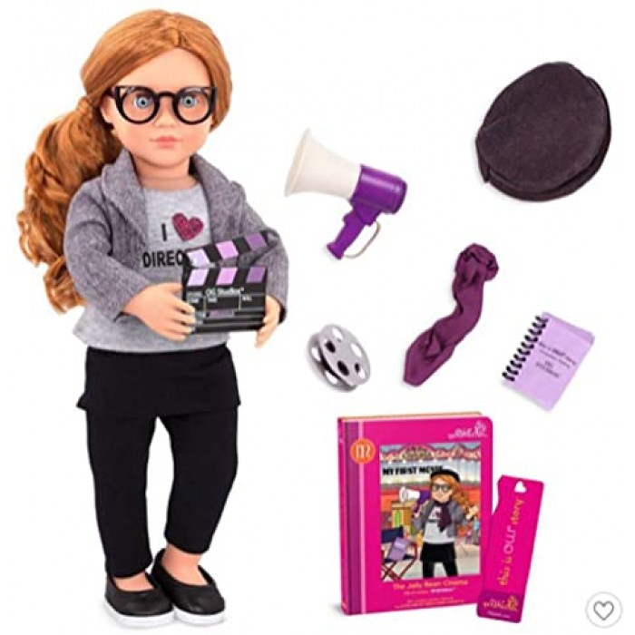 Our Generation Deluxe Cinema Doll With Book, Mienna