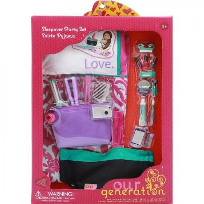 """Our Generation 18"""" Doll Sleepover Set"""