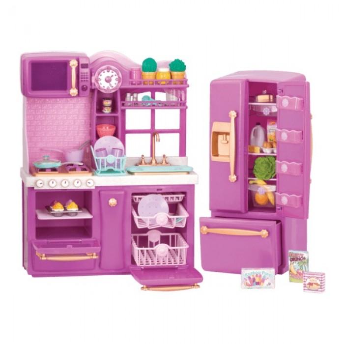 Our Generation Gourmet Kitchen Set Purple