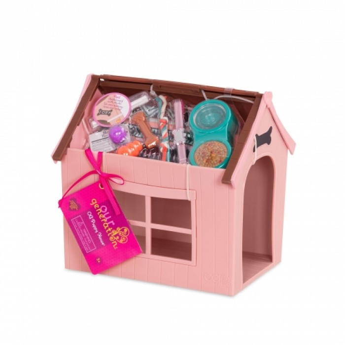Our Generation Deluxe Dog House Set