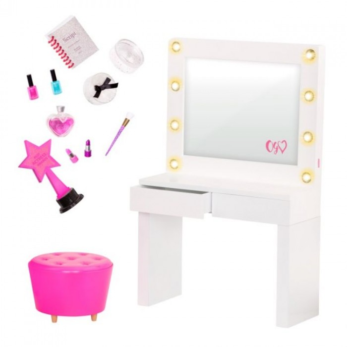 Our Generation Deluxe Dressing Room Set