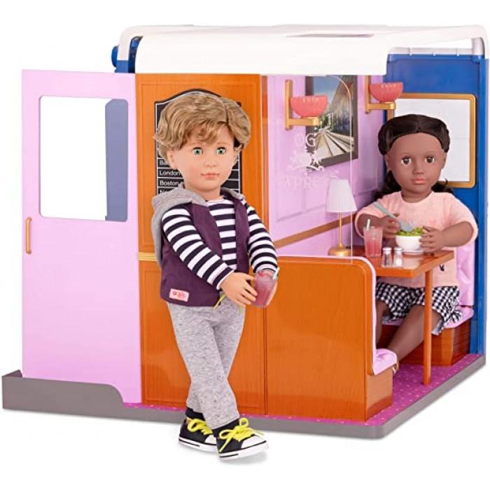 Our Generation OG Express Train Cabin