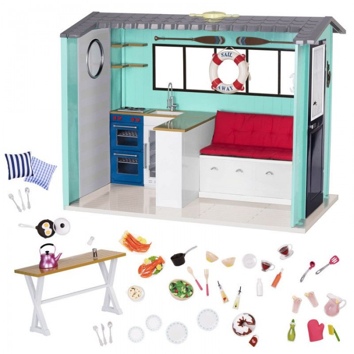 Our Generation Beach House and Accessories
