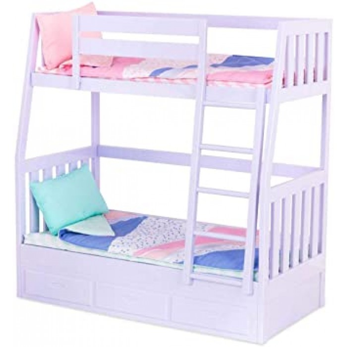Our Generation Dream Bunks Bed - Lilac