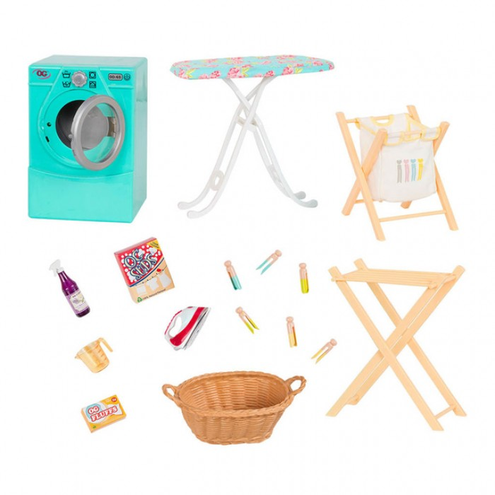 Our Generation Tumble and Spin Laundry Set