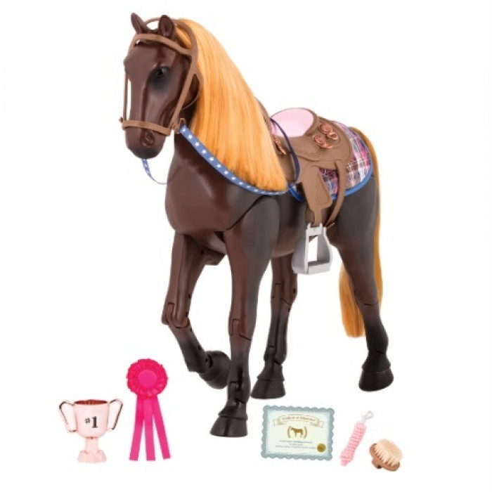 Our Generation Posable Thoroughbred Horse