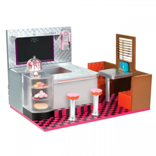 Our Generation Bite to Eat Retro Diner Set