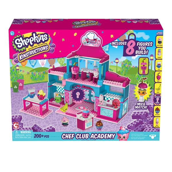 Shopkins Kinstructions Deluxe - Chef Club Academy