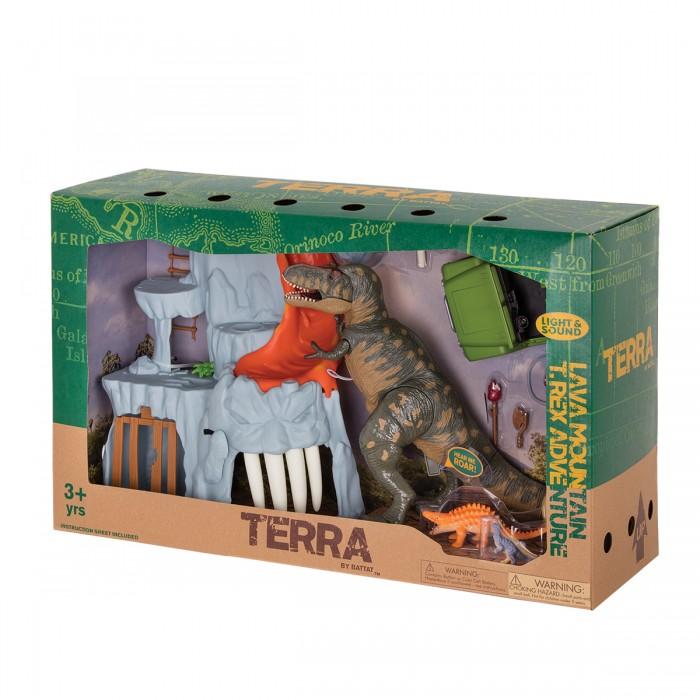 Terra Lava Mountain, T-Rex Adventure