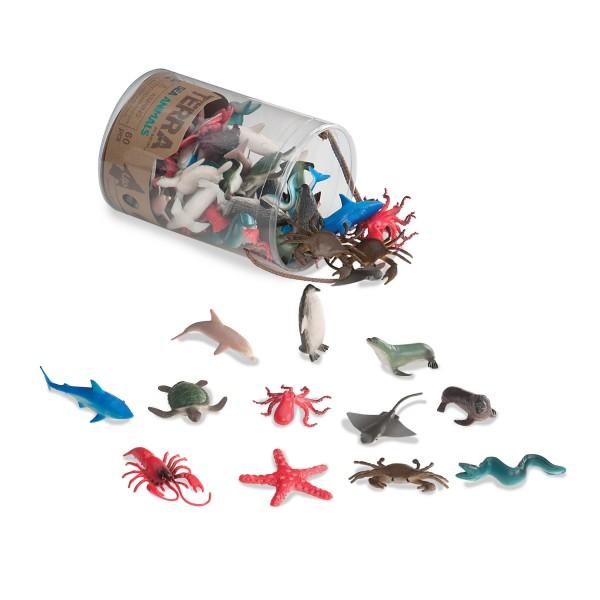 Terra Assorted Miniature Sea Animals (60 pc)