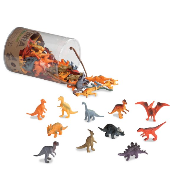 Terra Assorted Miniature Dinosaurs (60 pc)