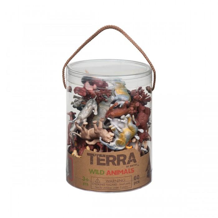 Terra Assorted Miniature Wild Animals (60 pc)