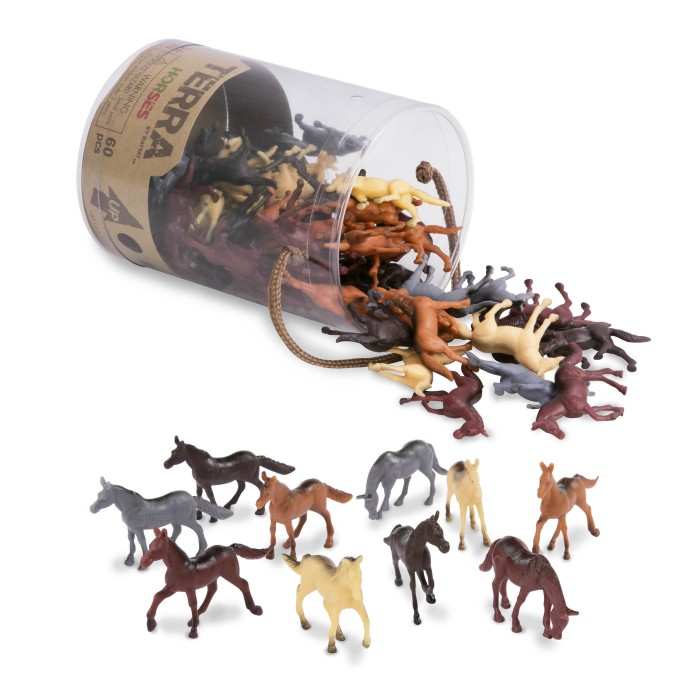 Terra Assorted Miniature Horses (60 pc)