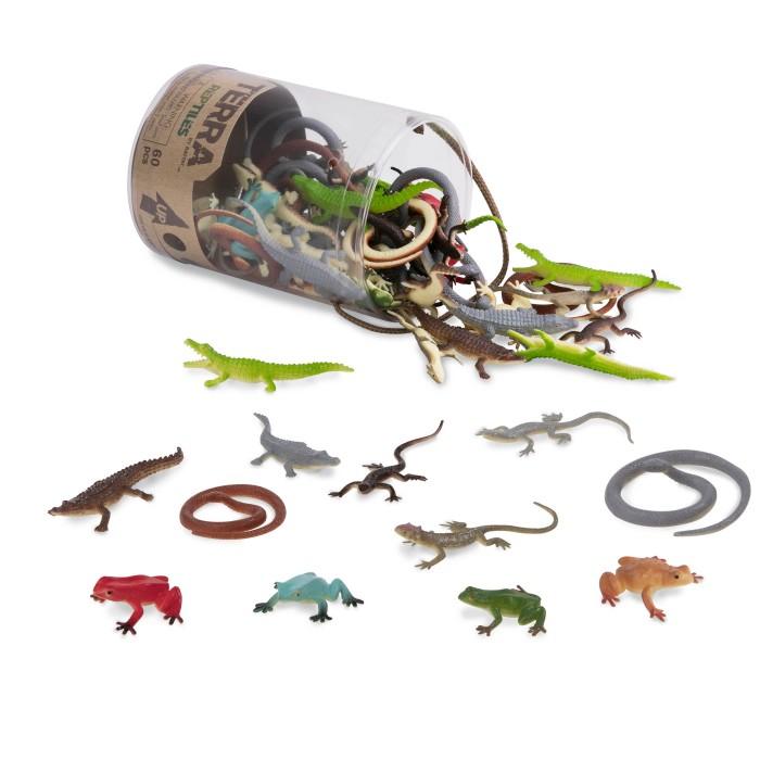 Terra Assorted Miniature Reptiles (60 pc)