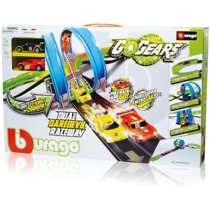 GoGears Dual Daredevil Raceway Playset