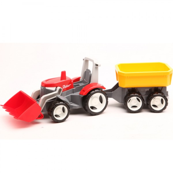 1+2 TRACTOR WITH TRAILER