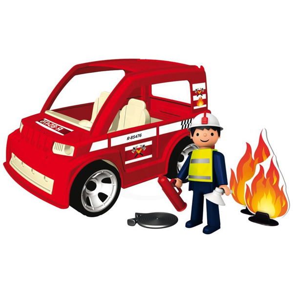 Pokeeto Fireman with Car and Accessories