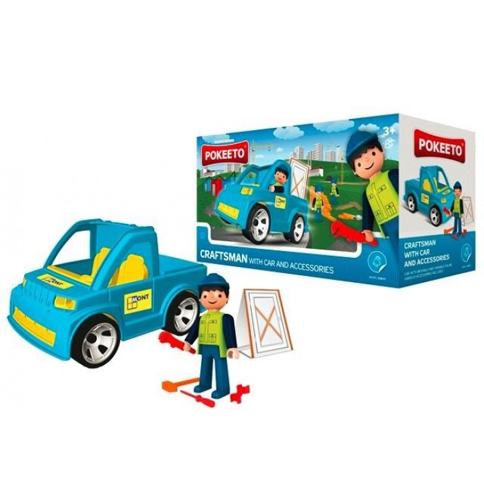Pokeeto Craftsman with Car and Accessories
